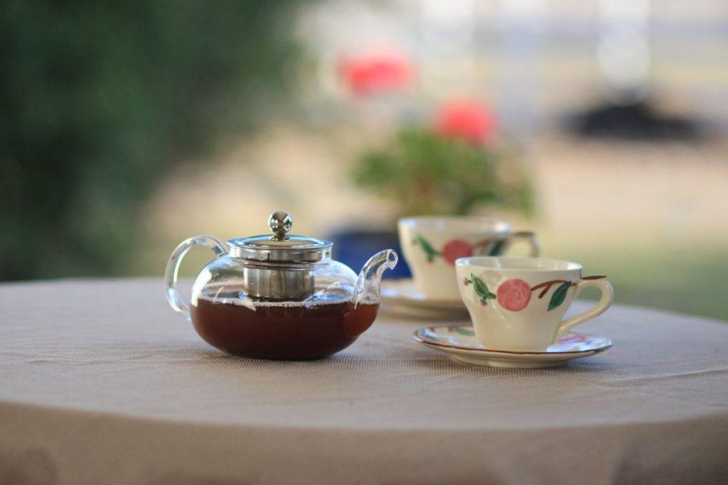 Tee trinken_Seniorenbetreuung