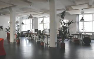 Wohlfühlatmosphäre im Büro