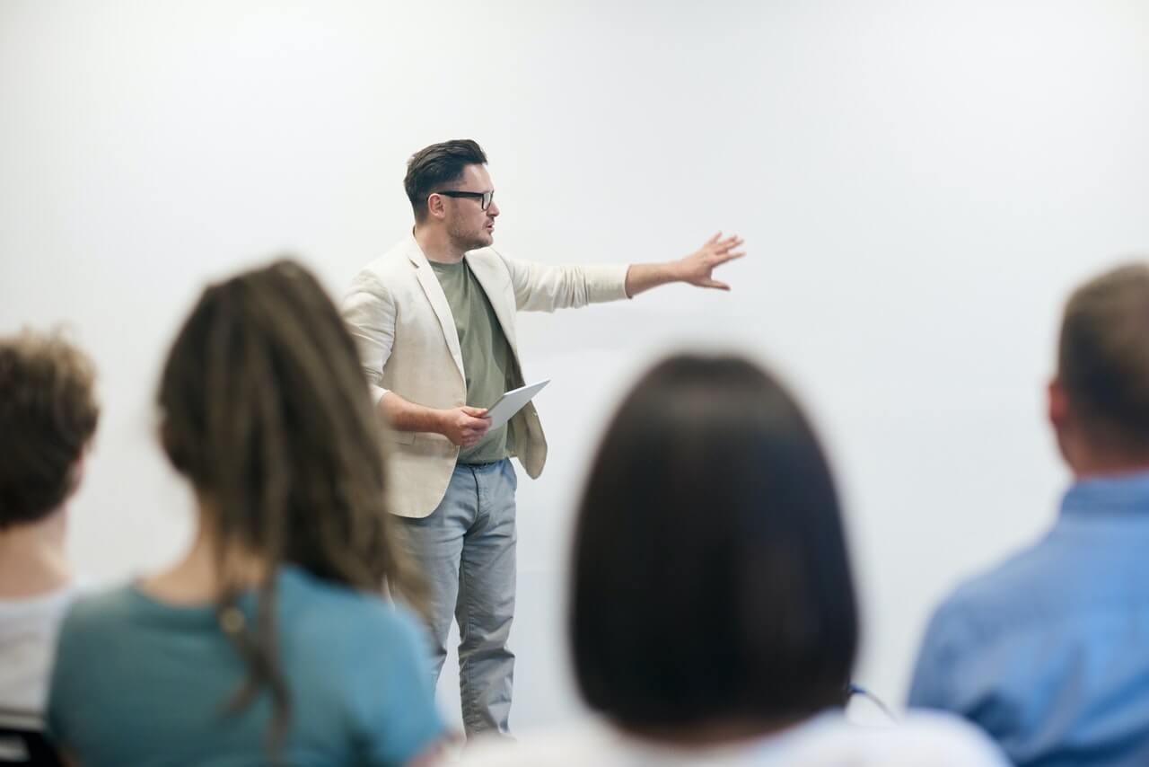 Präsentationen im Beruf